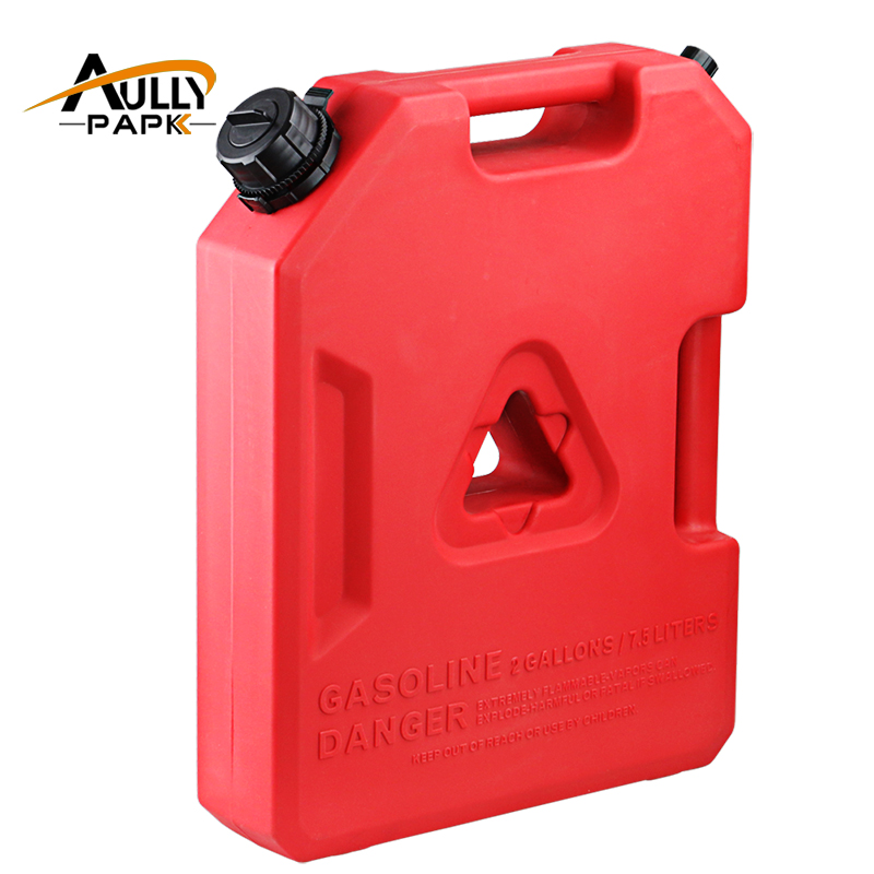 2Gallon Fuel Tank Cans Spare Plastic Petrol Tanks Mount Motorcycle/Car Gas Can Gasoline Oil Container Fuel-jugs Jerrycan nib 8 pack scepter corporation 07450 1 25 gallon epa carb gas can auth dealer