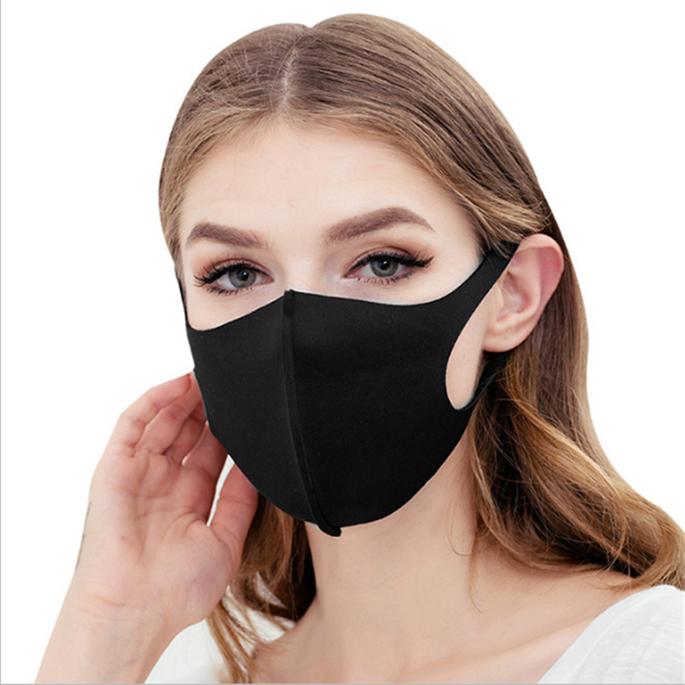 Fashion Dust Masks Men & Women Anti-fog Haze Pollen Pm2.5 Breathable Black & White Masks Can Be Repeated Cleaning woodyknows ultra breathable nasal filters 2nd gen nose masks anti pollen allergies dust pet dander allergy hayfever relief