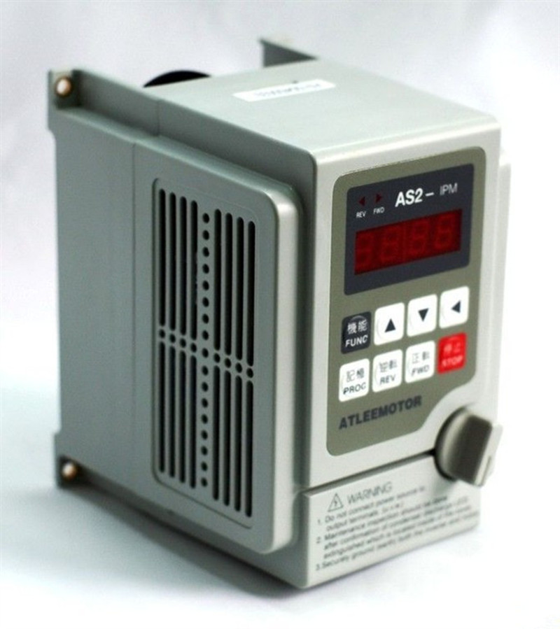 2.2KW 3HP 2000HZ VFD Inverter Frequency converter single phase 220v input 3phase 0-220v output 10A for Engraving spindle motor