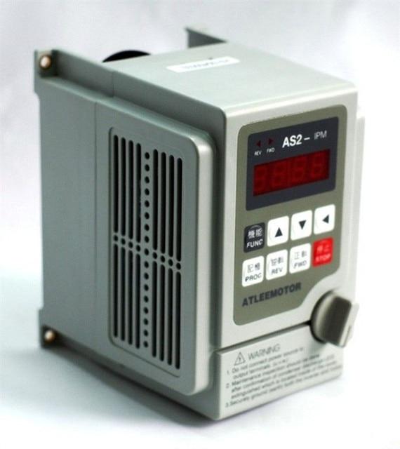 2.2KW 3HP 2000HZ VFD Omvormer frequentieomvormer eenfase 220v ingang 3 fase 0 220v uitgang 10A voor Graveren spindel motor