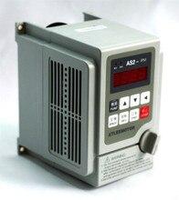 Variateur de fréquence 2000 kw, 3hp, 220 HZ, VFD, entrée 220v monophasée, sortie 0 v, 10a, pour moteur de broche de gravure