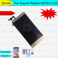 LCD Screen For Xiaomi Redmi Note 3 FHD 100 New 5 5inch 1920X1080 Lcd Display Touch