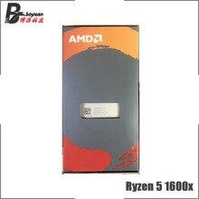 AMD Ryzen 5 1600X R5 1600x3.6 GHz שש ליבות עשר חוט חדש מעבד מעבד YD160XBCM6IAE שקע AM4
