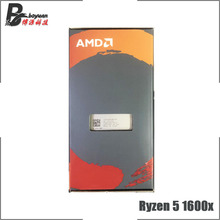 AMD Ryzen 5 1600X R5 1600x3.6 GHz sześciordzeniowy dwunastogwintowy nowy procesor cpu YD160XBCM6IAE gniazdo AM4
