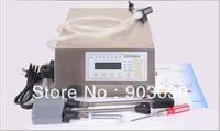 Free Shipping Manual Electric Compact Digital Control Pump Liquid Filling Machine 3 3000ML English Panel Machine