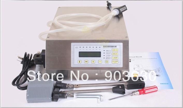Free shipping Manual Electric Compact Digital Control Pump Liquid Filling Machine (3-3000ML ) English panel machine easy operation numerical control liquid filling machine on sale