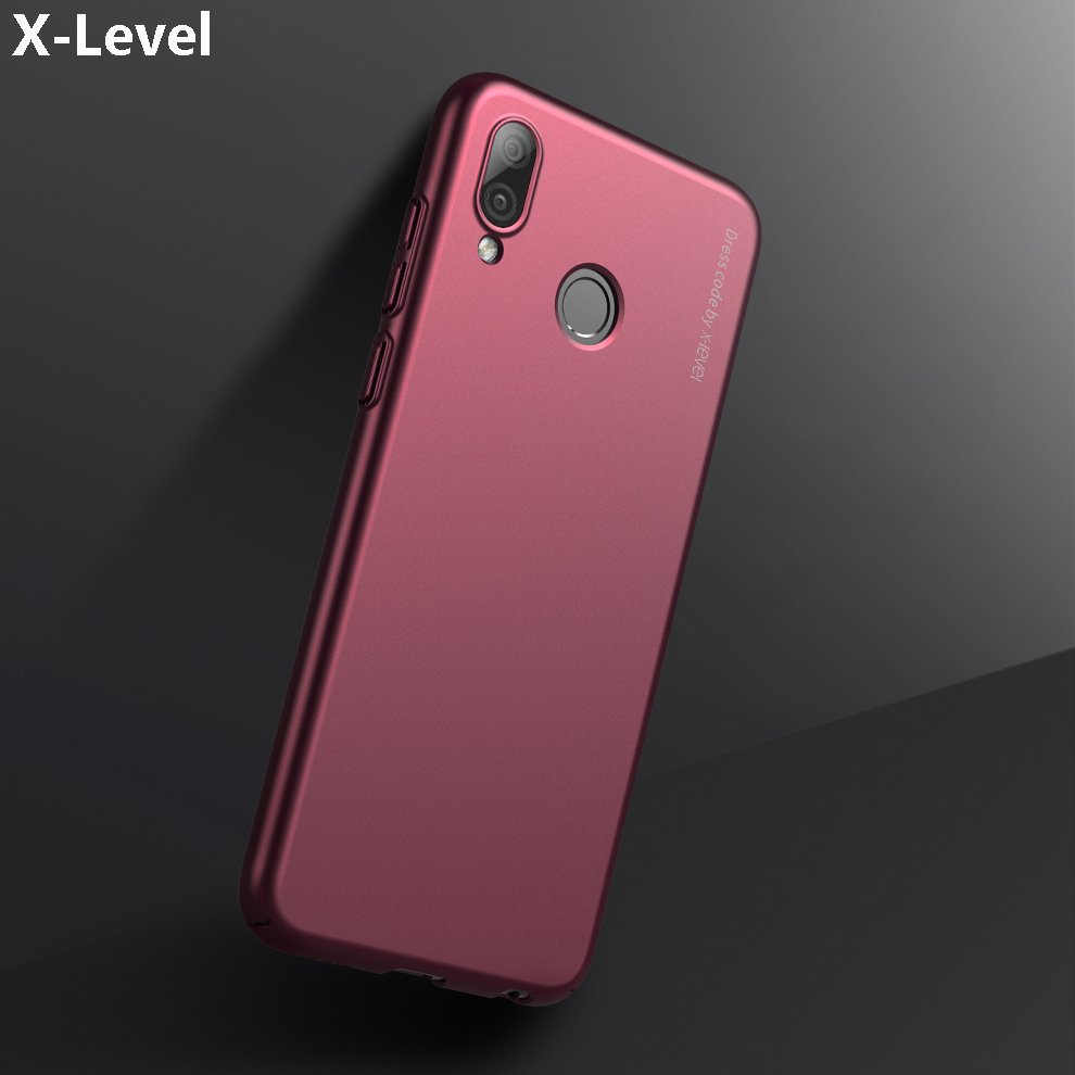 X-Level For Huawei Honor Play Case Cover Luxury Matte Hard Plastic Protective Armor Phone Case For Honor Play Back Cover 6.3