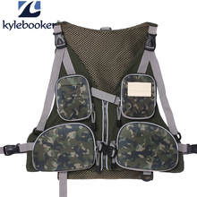KyleBooker New Fly Fishing Vest Pack Outdoor Handy Adjustable