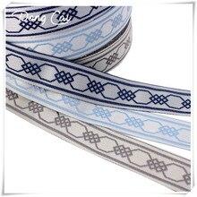 Embroidery Ribbon belt waist sealing length accessories jacquard webbing strap woven band 3yard/lot Width 3CM