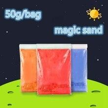 DoDoLu Brand 50g bag font b Kinetic b font Clay Dynamic font b Sand b font
