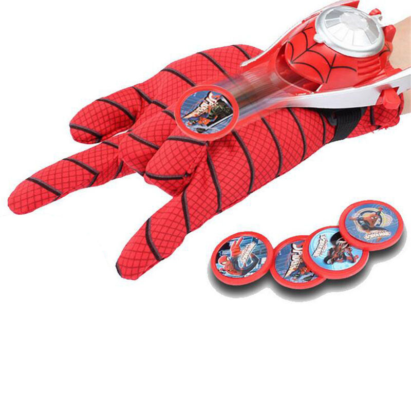 5 Styles PVC 24cm Launcher Glove Action Figure <font><b>Toy</b></font> <font><b>Kids</b></font> Suitable <font><b>Spider</b></font> <font><b>Man</b></font> <font><b>Toys</b></font> Christmas Gifts