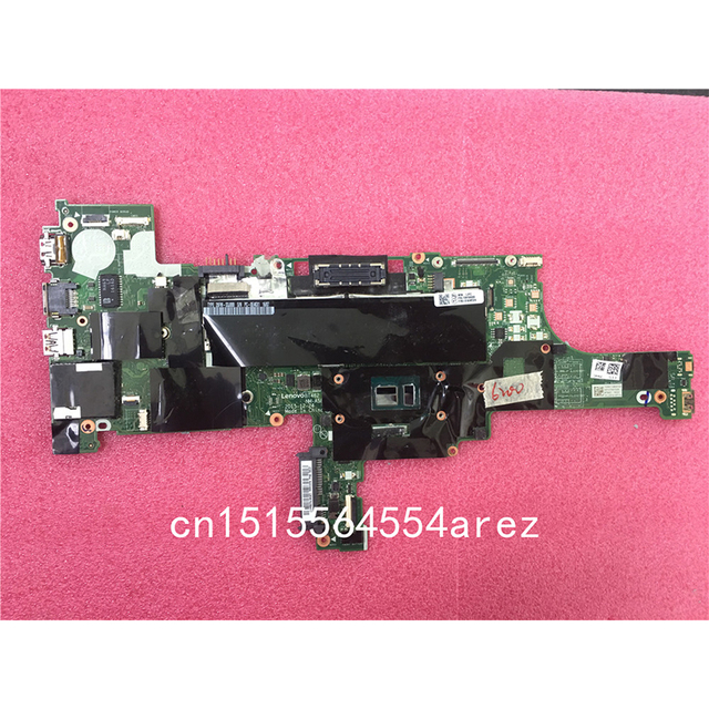 US $206 0 |Original Laptop Lenovo ThinkPad T460 Motherboard Mainboard WIN  i5 i5 6200U,UMA,TPM NM A581 01AW324-in Motherboards from Computer & Office