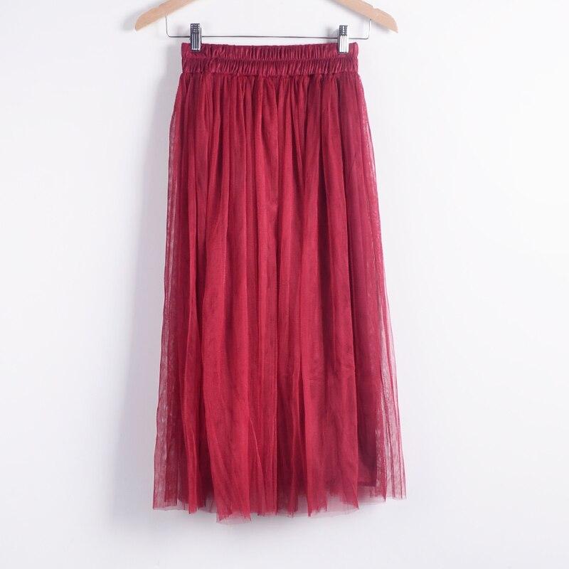 Beauty Long Tulle Skater Skirt 4