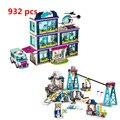 Lepin 01039 L Series 932pcs Building Blocks Kids Bricks Toy Girl Gifts Compatible 41318 01042 Friends LegoINGlys 41324