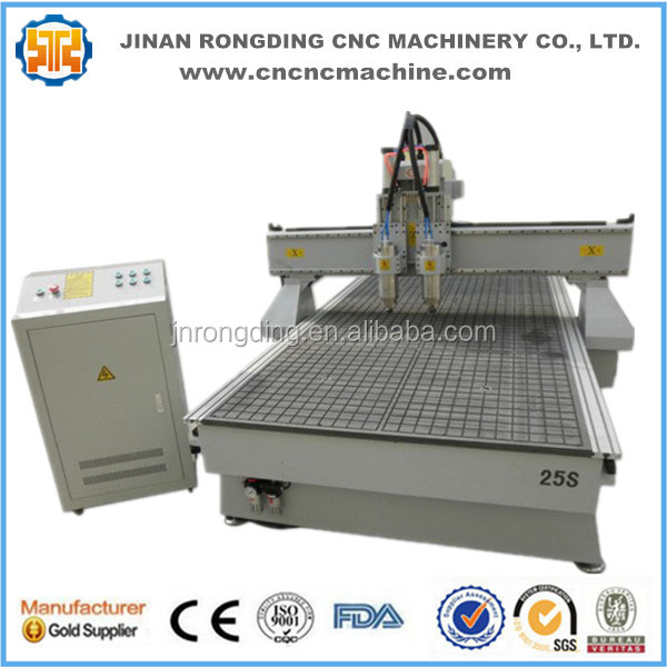 Pneumatic auto tool change router cnc machine