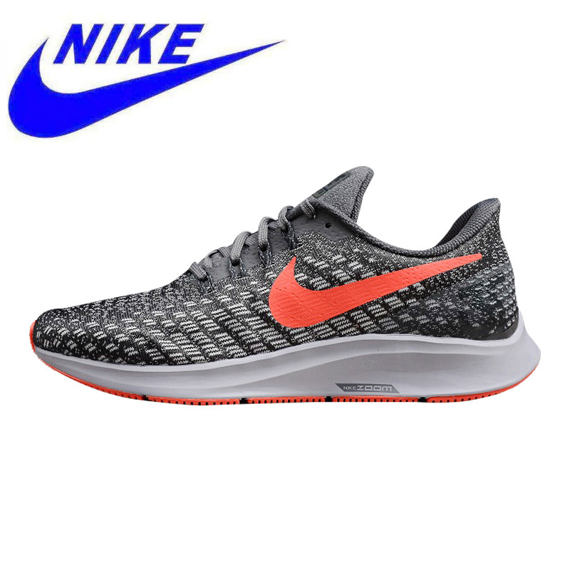 f8407231bcdca5 Breathable Lightweight Nike Air Zoom Pegasus Men's Running Shoes, Black  Grey, Non-slip