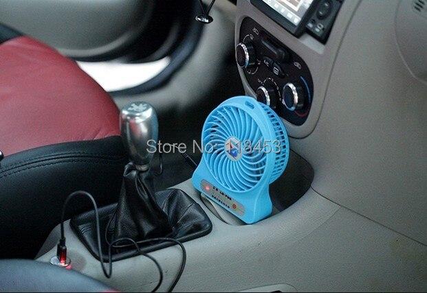 car air chargeable fanportable car cool air fan car mini fan - Portable Air Conditioner For Car