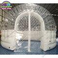 Открытый прозрачный надувной дом палатка  3 м Диаметр надувной палатки для кемпинга на продажу