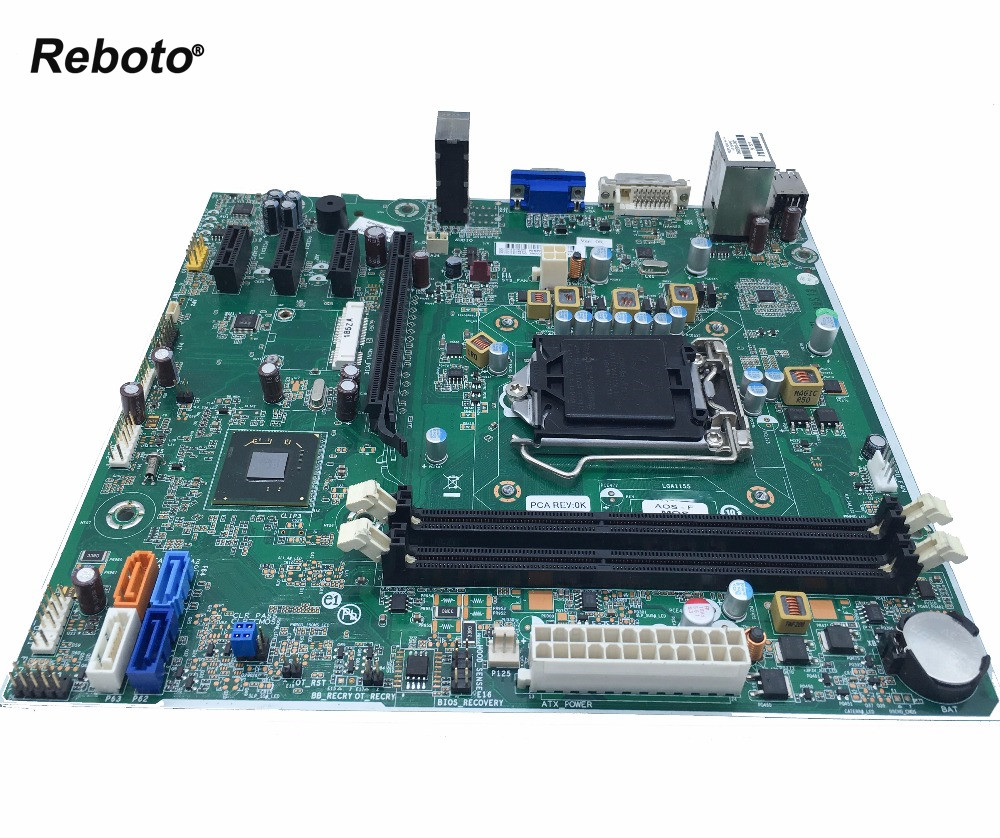 Reboto High quality Desktop Motherboard For HP PRO 3500 SERIES S1155 696234 001 701413 001 H61