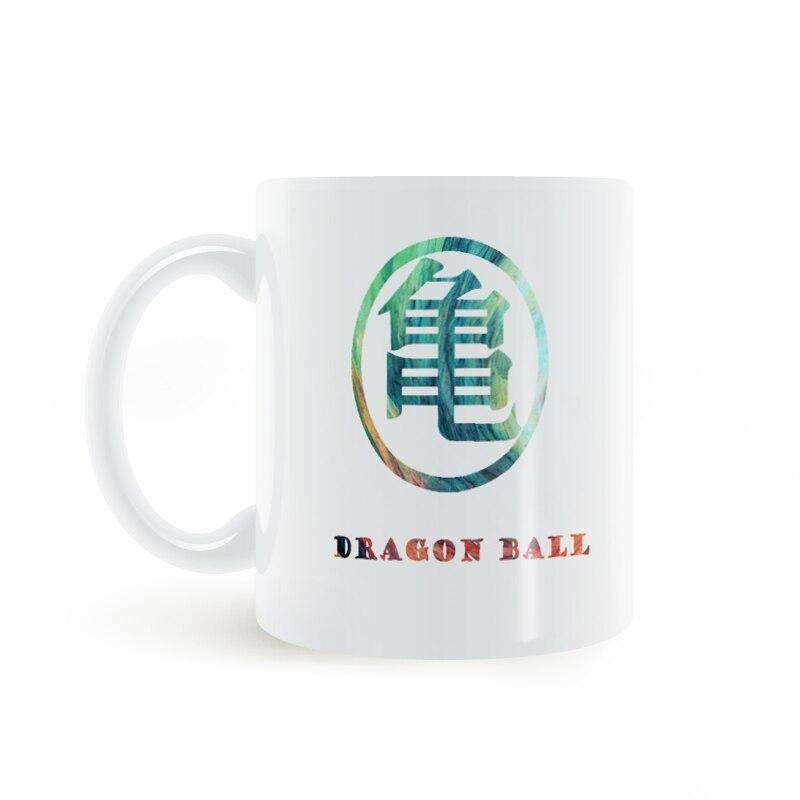 Dragon Ball Z Turtle Logo Hrnek Káva Mléko Keramika Kreativní - Kuchyně, jídelna a bar