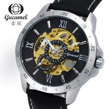 Gucamel aaa watch men wristwatch dial 45mm diameter hollow upscale fashion business men automatic mechanical watches
