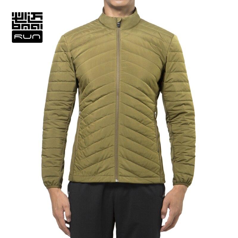 BMAI мужчины зима теплый куртка бег фитнес спортивные штаны хлопок одежда женщины Ветрозащитный с длинным рукавом влюбленные куртка