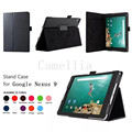Slim Folding Cover Case for Google Nexus 9 8.9 inch Volantis Flounder Android 5.0 Lollipop tablet by HTC
