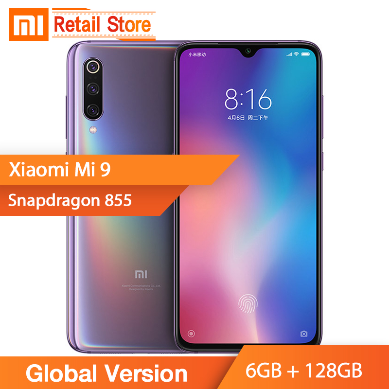 Global Version Xiaomi Mi 9 Mi9 6GB 128GB Smartphone Snapdragon 855 Octa Core 6 39 48MP