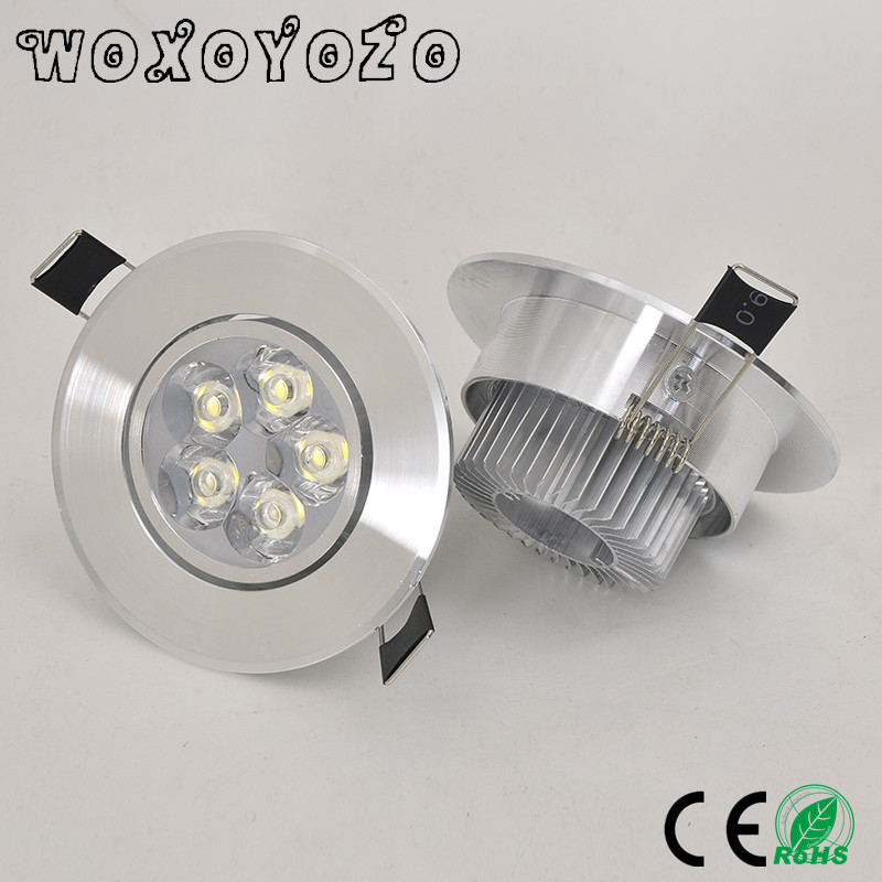2018 Hot Sale LED Dimmable Downlight COB 9W 12W 15W 21W Recessed LED Spot light AC 110V 220V 85-26V decoration Ceiling Lamp