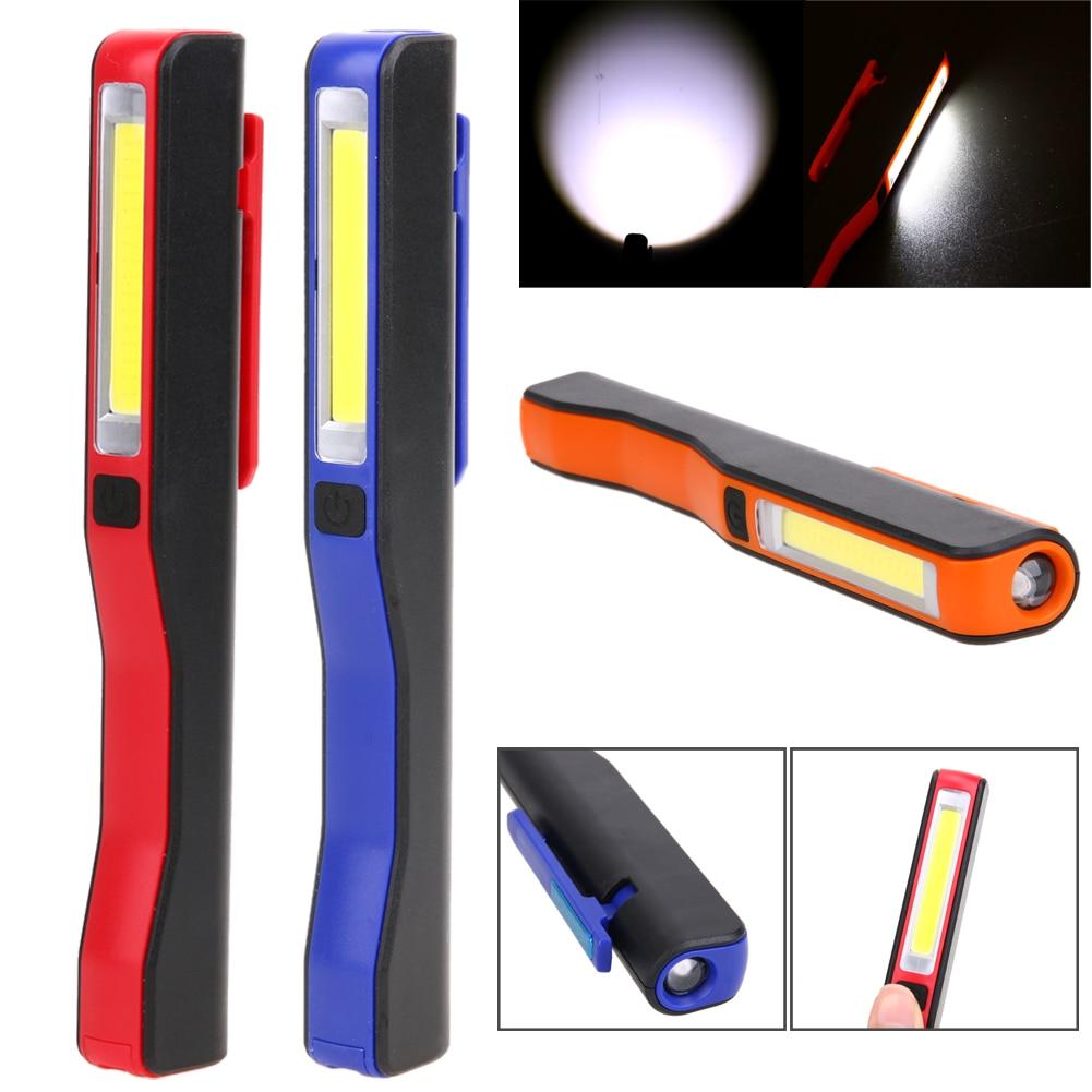 Lightweight USB Charging Mini LED Flashlight COB Work Light 180 Degrees Rechargeable Multifunction Portable Lighting+USB Cable