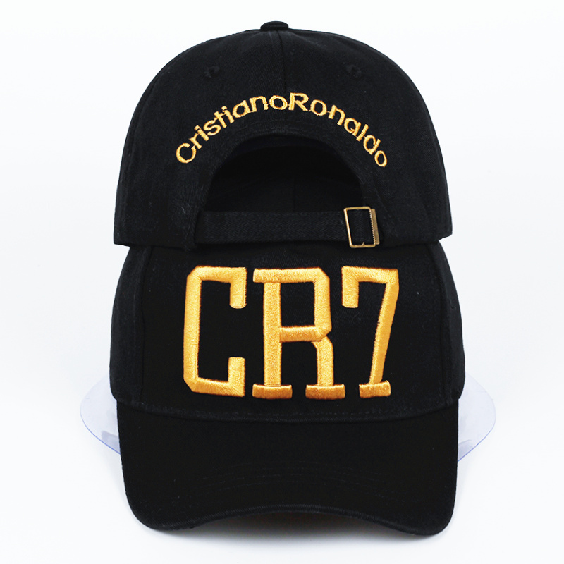 New Style Cristiano Ronaldo adjustable cotton CR7   Baseball     Cap   women   Caps   Snapback Hats men CR7 Hat Fashin cheapu Panama