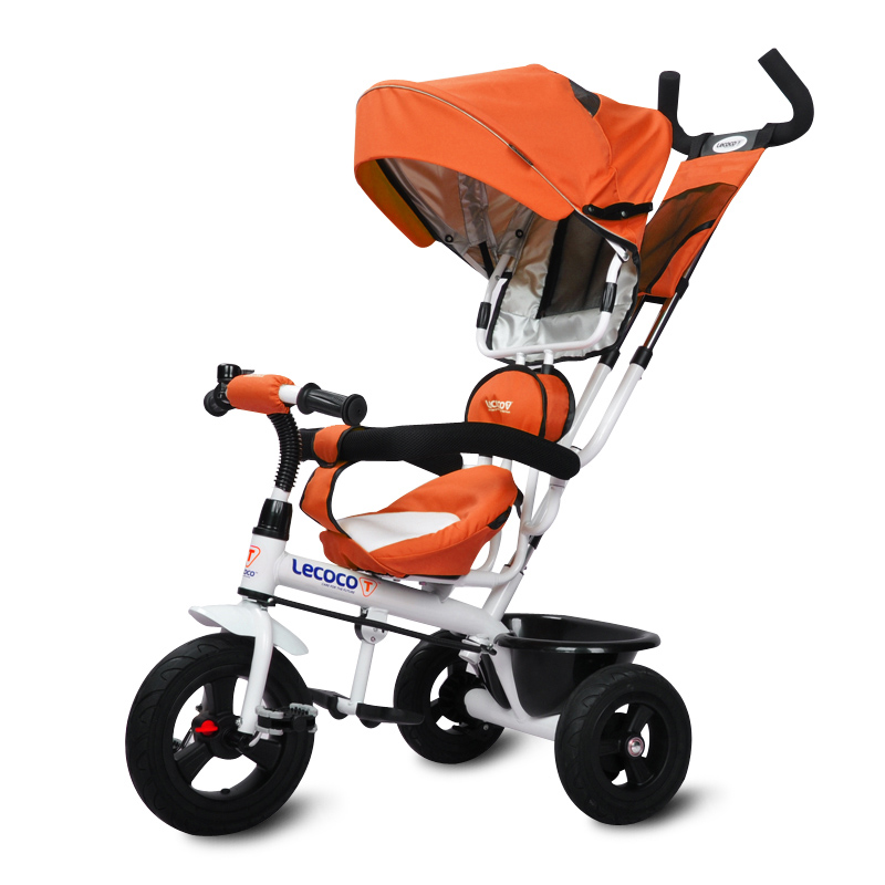 Lecoco Brand Children Tricycle Kid s Bicycle for 0 5 5Years Baby Ride on Stroller 3