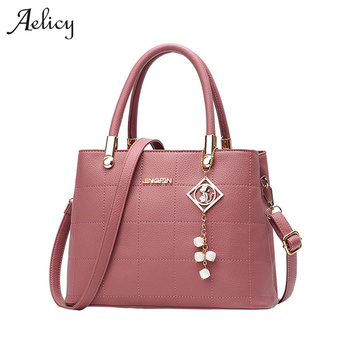 Aelicy Bolso Mujer Ladies Brand Leather Handbags Fashion Casual Tote Bag Big Shoulder Bag For Woman Hot Sale Bolsa Feminina 1012 Сумка