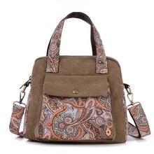 Fashion Dandelion Canvas Flowers luxury handbags women bags designer Shoulder Bags Women Messenger Bags Bolsas satchels