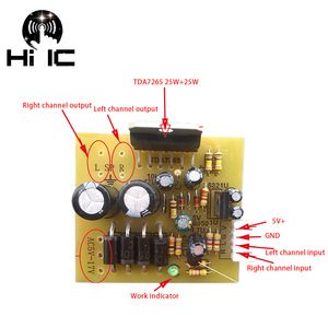 Image 3 - Stereo Radio FM Modulazione di Frequenza Radio Digitale di Bordo Porta Seriale Scheda di FAI DA TE FM Radio TEA5711