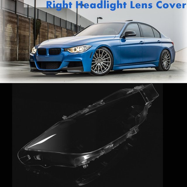 Front Right Headlight Headlamp Lens Lenses Cover For Bmw F30 F31 For