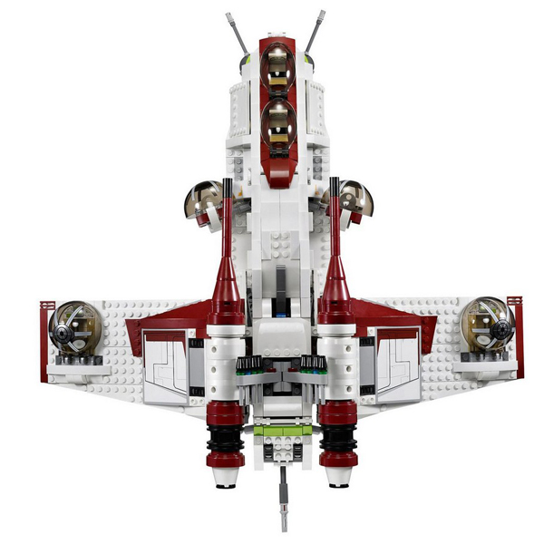 Lepin 05041 Star Series War Genuine new The The Republic Model Gunship Set Educational Building Blocks Bricks Toys 75021 секундомер joerex 4399 110
