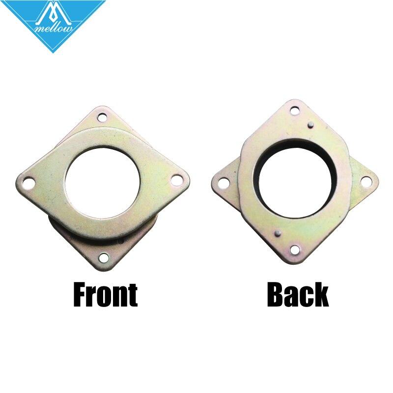 Hot 6 pcs nema 17 stepper motor metal damper nema 17 for Nema 23 motor mount plate