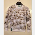 2015 autumn and winter new Harajuku emoji expression 3d 3d thin couples loose sweater suit men and women tide