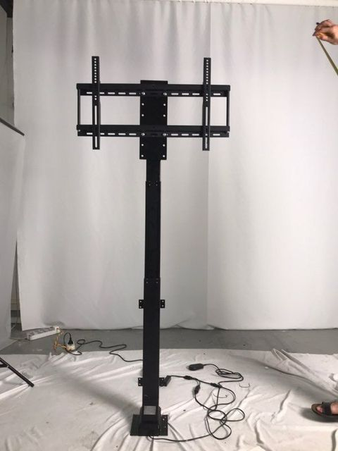 New Silent Motorized 900mm Tv Mount Lift W Remote Control For Large Screen 30 60