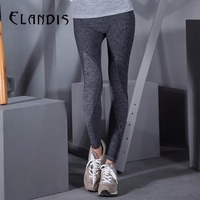 FLANDIS Pants Sport Leggings Running Women Tights Yoga Leggings Knitted Yoga Pants Fitness Wear Running Tight