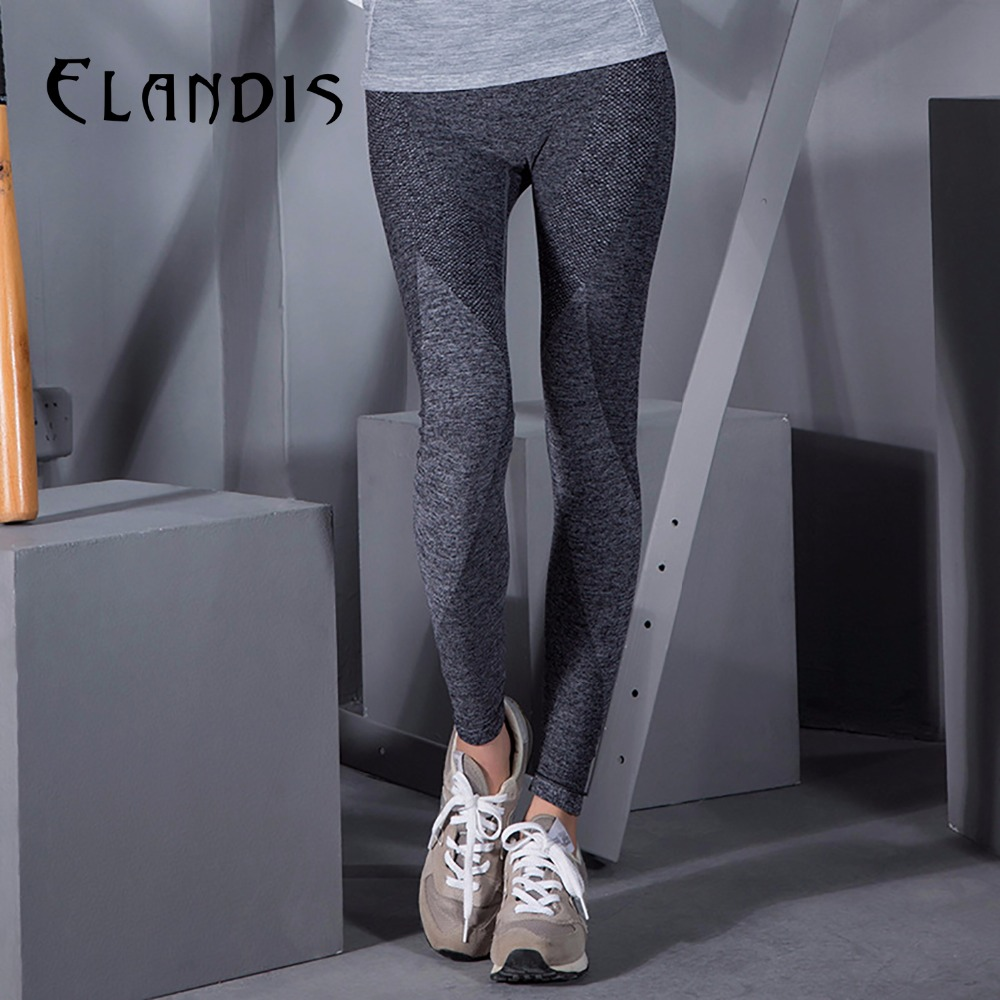 FLANDIS pants sport leggings running women tights font b yoga b font leggings knitted font b