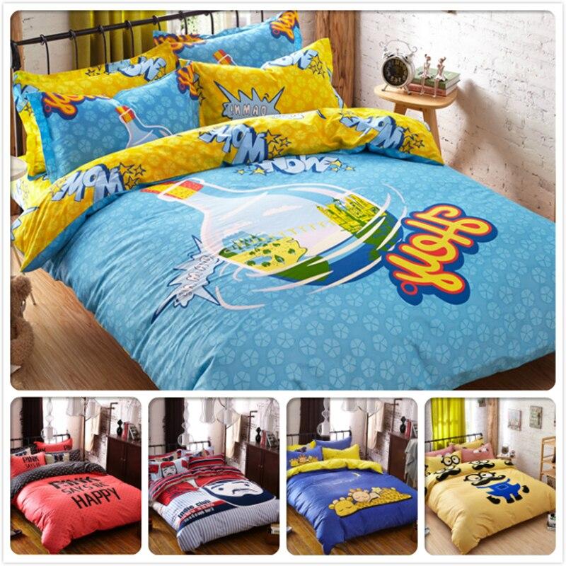 Steady Big Wide Duvet Quilt Cover 3/4 Pcs Bedding Set Kids 4pcs Bedlinen King Queen Double Size Flat Sheet Bed Linen 1.8m 2m Bedclothes A Great Variety Of Models Solar