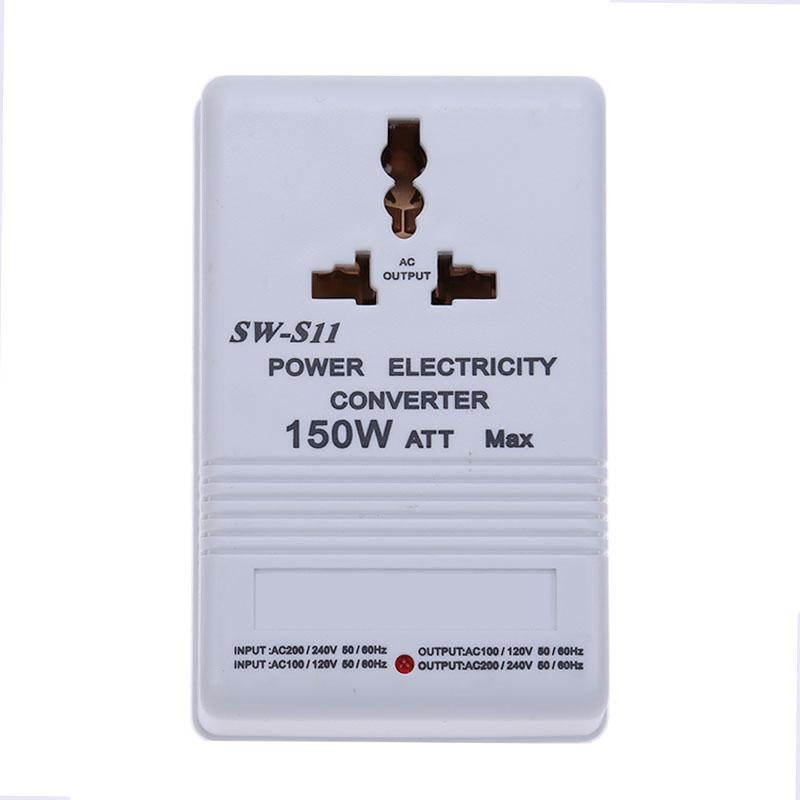 150W Limited Power 220V to 110V Step Down Both-Directional Electricity Voltage Converter Adapter Voltage Transformer
