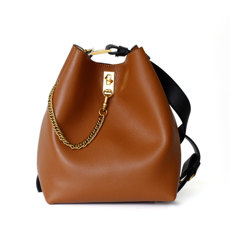 New Large Bucket Top handle Bags For Women 2018 Soft Leahter Autumn And Winter Luxury Handbags Women Bags Designer 39 s Bags