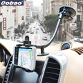 Long Arm Neck Desk Mobile Phone Stent Car windshield holder for iphone 7 samsung galaxy s6 ipad mini 7 8 inch tablet pad tripod
