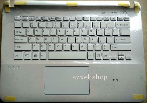 New for Sony vaio SVF1421V5CB SVF14218SCB SVF1421E2EW Palmrest English US Keyboard white backlit soobshhenie ot strelkova 25 06 2014 1421