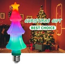 E27 Christmas Tree Lights LED 220V E26 Flame Lamp Fire Effect Light Bulb 2835SMD Color LED Light Bulb 110V Party Decoration Lamp