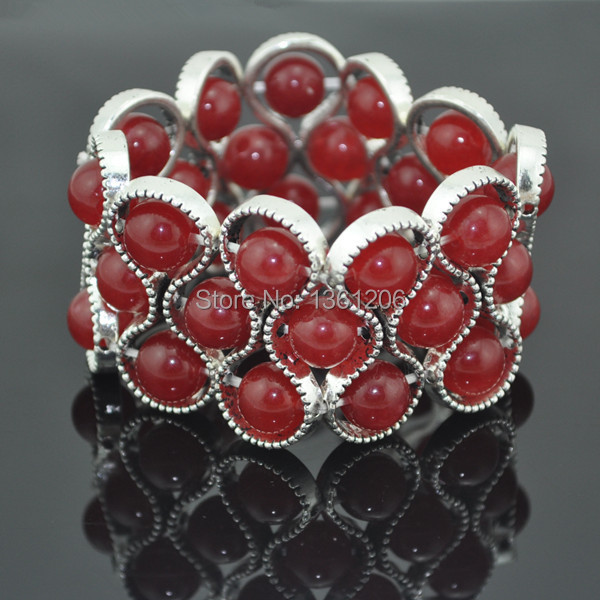 BC99-28----Elastic Bracelet Bangle Gift Jewelry Factory Price Vintage Tibet Alloy free shipping wholesale