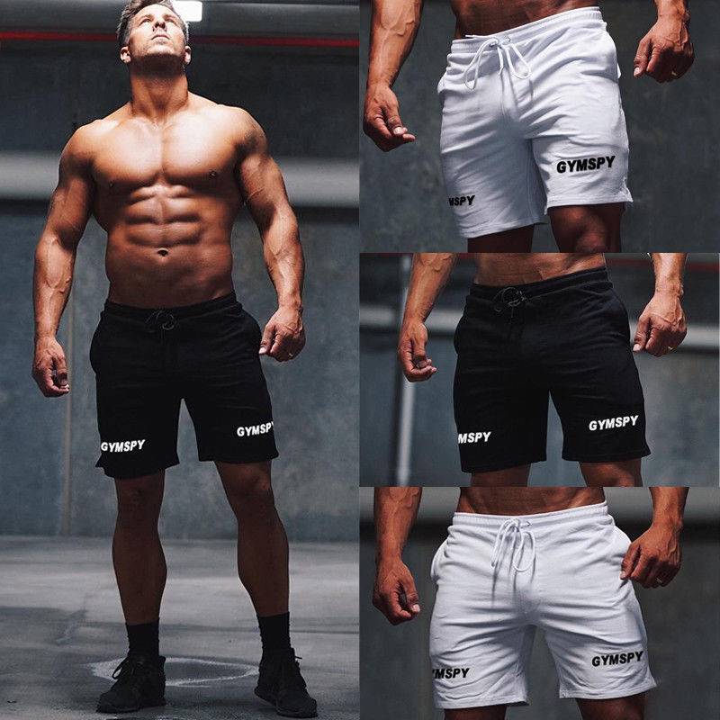 Men GYM Shorts Training Running Sport Workout Shorts Casual Trousers